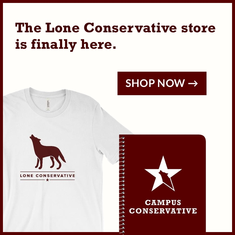 Shop the Lone Conservative store now!